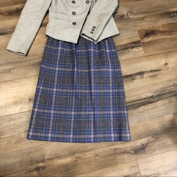 Pendleton Dresses & Skirts - Vintage Pendleton Virgin Wool Mid Length Skirt